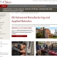 csu chico robotics screen shot of website